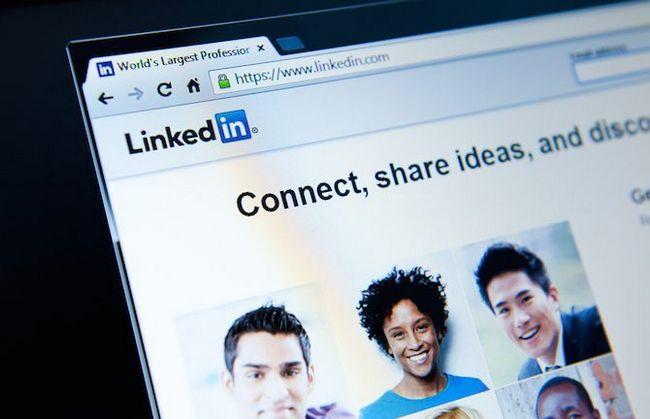 page Web linkedin
