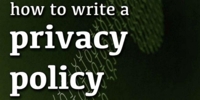 Comment rédiger une politique de confidentialité pour votre site web