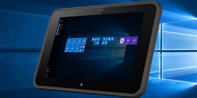 Comment bien les fenêtres 10 travail sur une tablette minuscule?