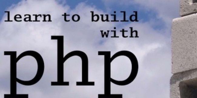 Apprenez à construire avec php: un cours intensif