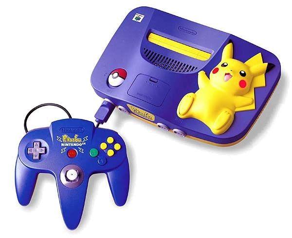 Pikachu N64 Édition