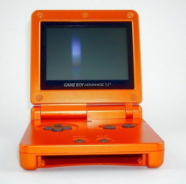 Torchic orange GameBoy Advance SP