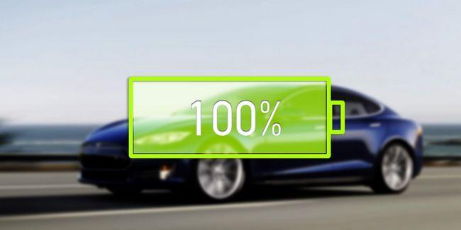 Nouvelle batterie de l`état solide doublera gamme de voiture électrique