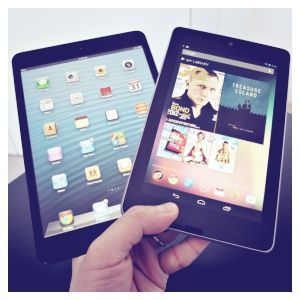 Nexus 7 vs ipad mini: une étude comparative