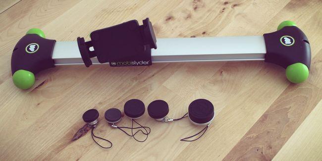 Kit de lentille photojojo et caméra mobislyder examen et dolly giveaway