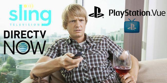 Tv sling vs directv maintenant vs playstation vue: comment se comparent-ils?