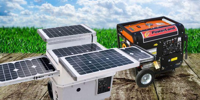 Générateurs solaires contre les générateurs de carburant: ce qui est le mieux pour vous?