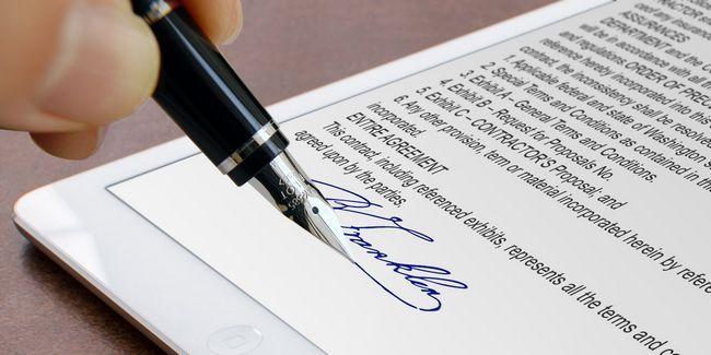 Les meilleures applications à signer, annoter et modifier pdfs sur votre ipad
