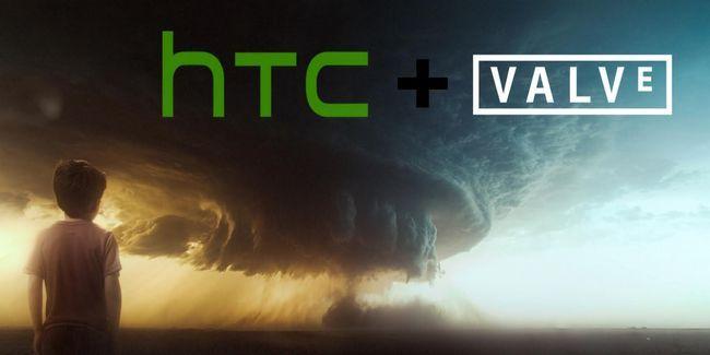 Valve annoncent et htc nouveau casque vr pour l`expédition d`ici noël 2015