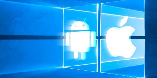Vous voulez que vos applications android préférées et ios pour fonctionner sur windows 10?