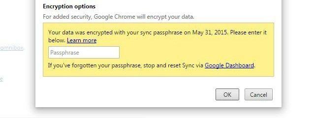 chrome-sync-passphrase