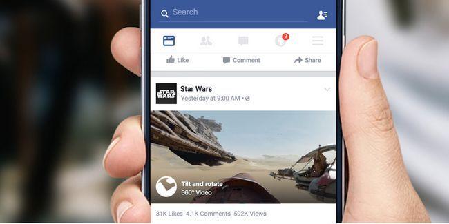 Quelles sont les vidéos de facebook à 360 degrés et comment vous téléchargez votre propre?