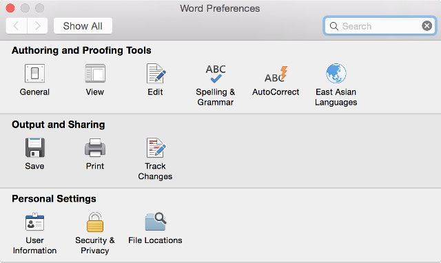 word_mac_settings