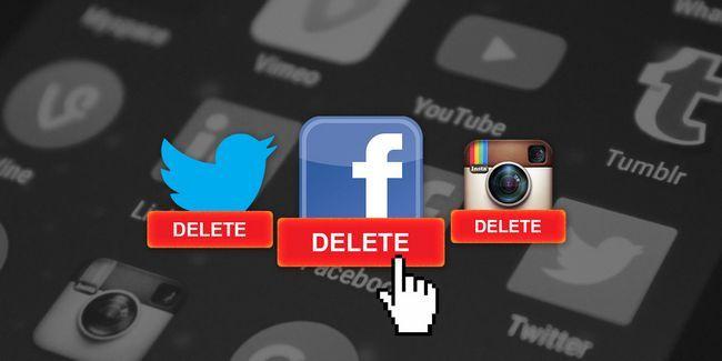 Pourquoi est-il si difficile de supprimer des comptes de médias sociaux?