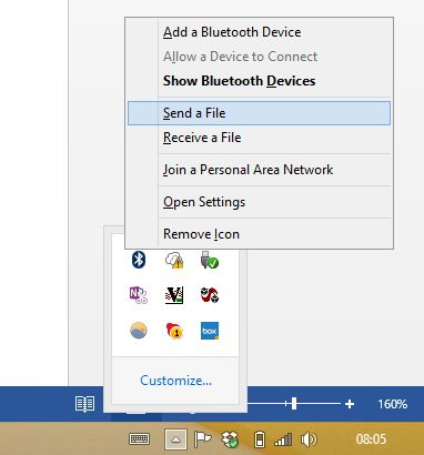 fenêtres Muo-W8-bluetooth--Wi-Fi Direct
