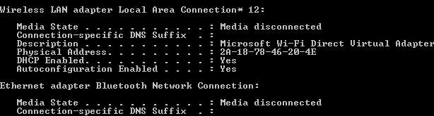fenêtres Muo-W8--cmd-Wi-Fi Direct