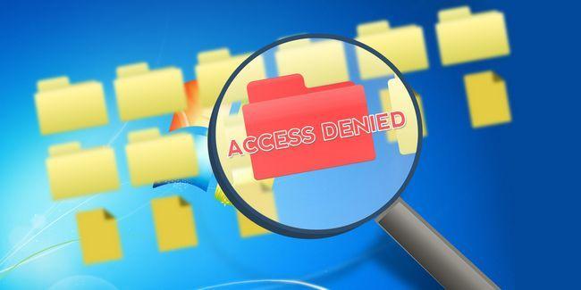 Malheurs du système de fichiers windows: pourquoi ai-je vu refuser l`accès?