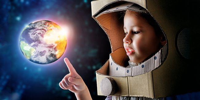 Votre enfant peut devenir un astronaute - un bref guide pour lancer le rêve