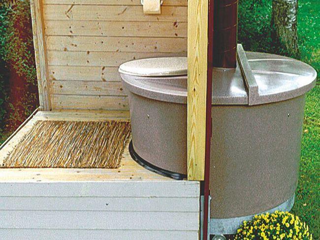 Современные дачные туалеты