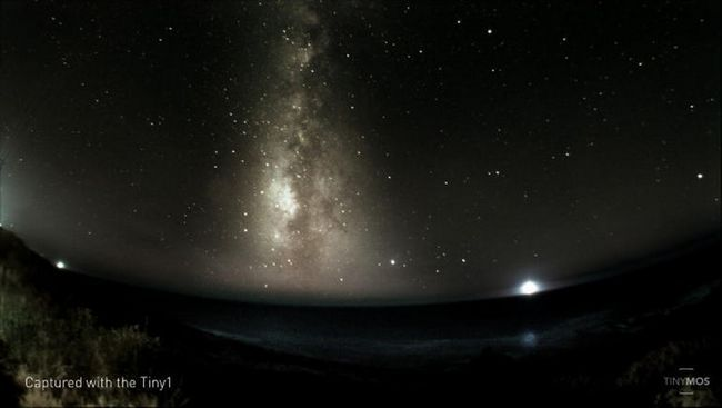 Tiny1 — фотоаппарат для астрофото от компании tinymos