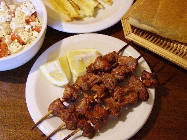 Еда в греции. Греческие блюда