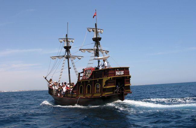 Пиратский корабль, Тунис