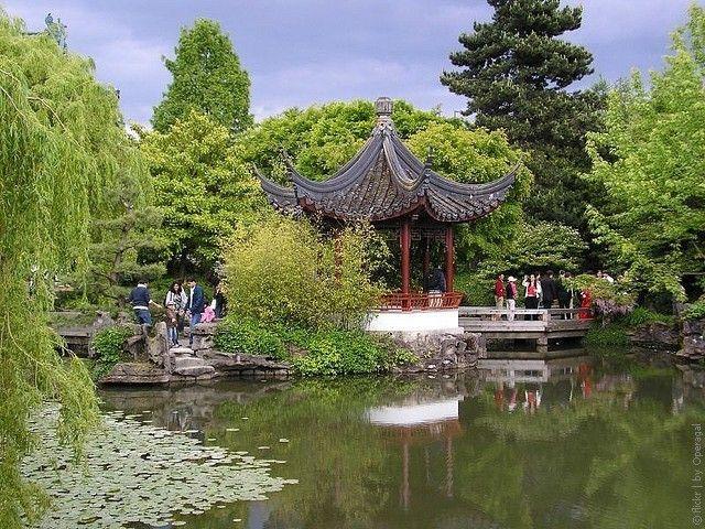Китайский сад сунь ятсена в ванкувере, канада